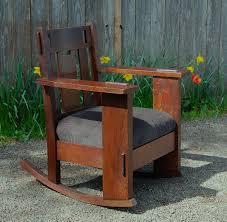 voorhees craftsman mission oak furniture original vintage