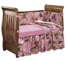 Girls Crib Bedding Camo Crib Bedding Set For A