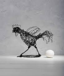 steampunk decor anniversary gift wire sculpture bird
