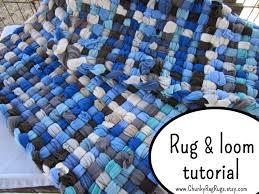 Fabric Rug Diy Crafts Diy Room Decor Fabric Crafts Weaving Loom
