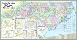 Map Of Asheville Nc North Carolina Wall Map Zoom