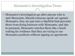 Monsanto Vanity Fair Monsanto Grouppresentation