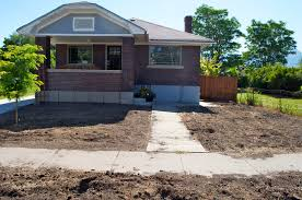 the bungalow gets grass part 1 home hinges home improvement