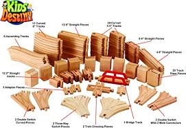 Make Wooden Toy Train Track by Wooden Train Tracks Toy Train Center