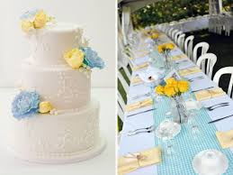Shweshwe Wedding Decor Inspirations For Blue And Yellow Wedding Colors Everafterguide