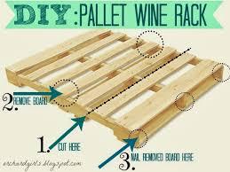 orchard girls diy pallet wine rack