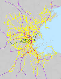 Red Line Mbta Map by List Of Mbta Bus Routes Wikipedia