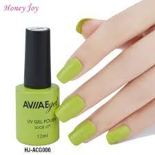 cure nail polish with uv l aviiae chartreuse gel nail polish long lasting nail gel soak off led