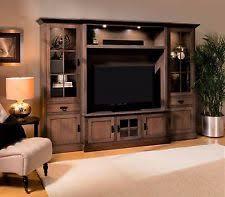 wall units solid wood living room entertainment wall units ebay