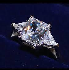 2 5 Cushion Cut Diamond Engagement Ring All Sizes Vvs1 3ct Cushion Cut Diamond Engagement Ring Pt950