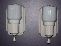 Vintage Style Bathroom Lighting Awesome Vintage Bathroom Lights With Retro Bathroom Light Pulls