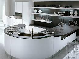 Curved Kitchen Island Luxury Modern Curved Kitchen Island Modern Kitchen Design With