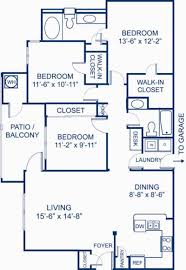 1 2 3 bedroom apartments in ashburn va camden silo creek blueprint of 3 2a floor plan 3 bedrooms and 2 bathrooms at camden silo creek
