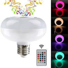bluetooth music light bulb smart mini wireless bluetooth music led light bulb four color to