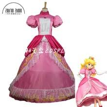 Princess Peach Halloween Costume Popular Princess Peach Costume Buy Cheap Princess