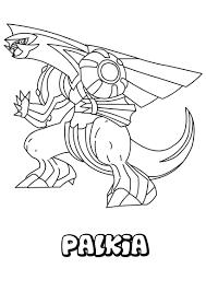 dessin à imprimer du pokemon palkia l ours pinterest pokémon