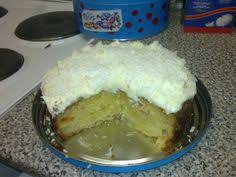 pineapple upside down cake with cinnamon cream cheese frosting by