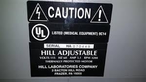 hill adjustable table model 9c14