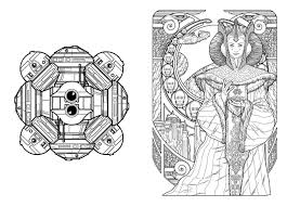 sci fi coloring pages 4 doctor who science fiction coloring book