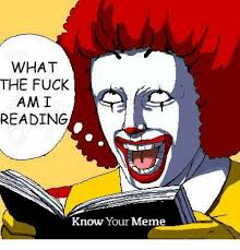 Know Your Meme - pics me me what the fuck am i reading know your me