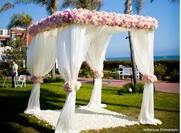wedding arch gazebo for sale flower fabric chuppah blooming brides florist california