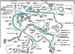 vacuum hose diagram toyota hiace 28 images 2t engine toyota