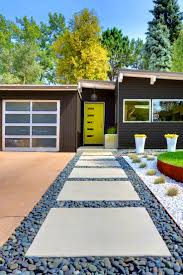curb appeal tips for midcentury modern homes with mid century
