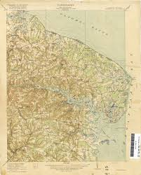 Eastern Shore Virginia Map by
