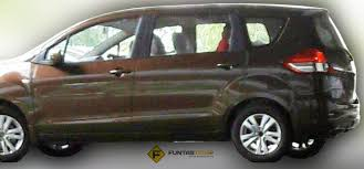 mpv car new proton mpv rebadged suzuki ertiga spied undisguised