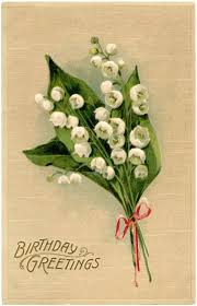 lily of the valley birthday card graphics fairy birthday cards
