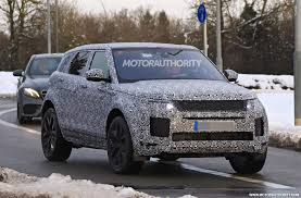 land rover range 2020 land rover range rover evoque spy shots