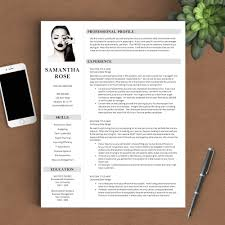 resume writing templates modern resumes resume tips resume templates resume writing advice modern resume template the samantha rose