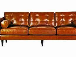 Mid Century Modern Leather Sofa Leather Mid Century Modern Sofa Bonners Furniture