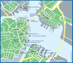 Map Of Boston Harbor by First Night Ice Sculptures 12 31 15
