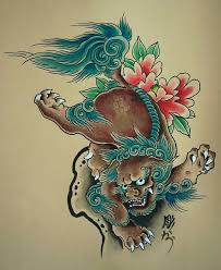 foo dog drawing google search tattoos pinterest foo dog