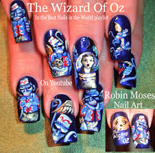nail art tutorials diy wizard of oz nails best nail design
