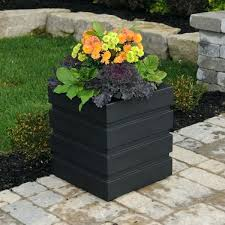 patio planter boxes deck patio flower planter box by outdoor