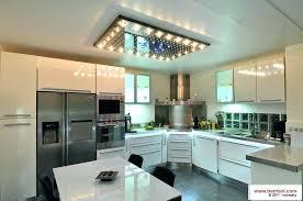 disposition cuisine spot led encastrable plafond cuisine comment bien positionner ses