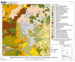 State Map Of Arizona by Usgs Open File Report 02 324 Digital Soils Survey Map Of The