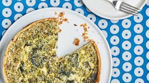broccoli and cheese quiche recipe bon appetit