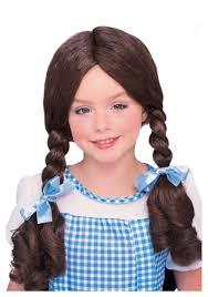 Dorothy Toto Halloween Costume Kids Dorothy Wig
