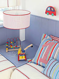 Red And Blue Boys Bedroom - kids bedroom ideas for two pink and blue color schemes