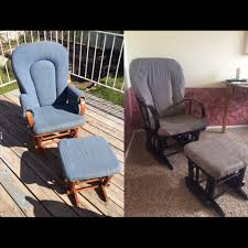 Inexpensive Rocking Chair Spray Paint Simply House To Home