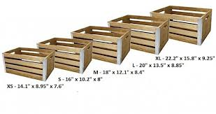 wooden crate storage westlake ace hardware