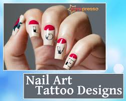 5 stunning and creative nail art tattoo designs to beautify your