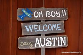 Welcome Baby Home Decorations New Baby Gift Baby Shower Sign Decorations Its A Boy Sign Its