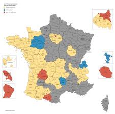 1980 Presidential Election Map by French Presidential Election Results 2017 Round 1 By Department