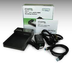 plugable usb 3 0 superspeed sata iii lay flat hard drive and solid