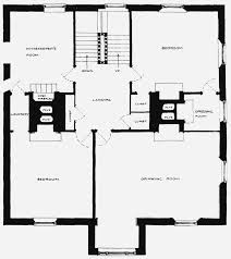 plate 4 tudor house ground and first floor plans british