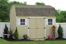 backyard wooden sheds for storage